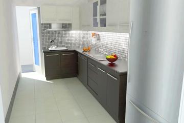 Phòng bếp của căn hộ NBB Garden III